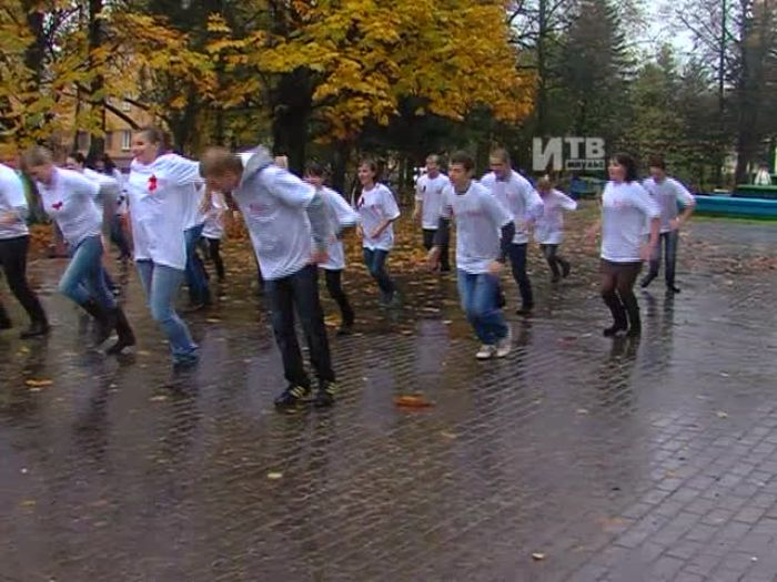 Импульс\u002DТВ: Флешмоб в поддержку донорского движения