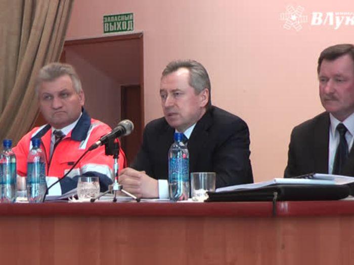 Начальник Октябрьской железной дороги побывал в Великих Луках