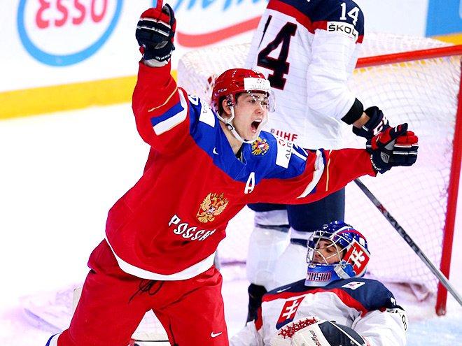 Сборная Российской Федерации похоккею проиграла США наМЧМ