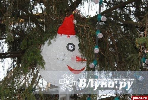 Фото ёлочные игрушки на городскую елку своими руками