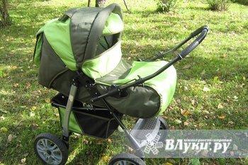 детская коляска почти новая, полный комплект, цена 4000р