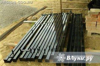 Столбы металлические Металлические столбы для заборов, покрытые грунтовкой…