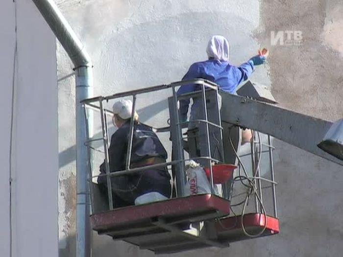 Импульс\u002DТВ: Фасады трех домов отремонтируют к 1 ноября