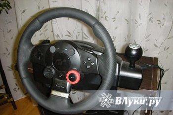 Продам руль LOGITECH DRIVING FORCE GT для PS3 (полностью совместим и разработан…