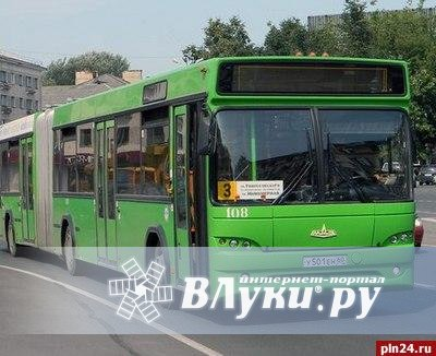 Схема движения автобусов