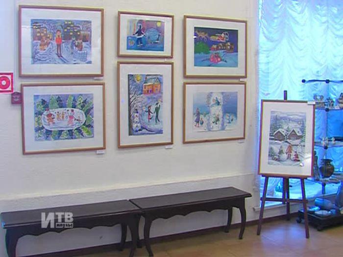 Импульс\u002DТВ: Выставка в «Мире искусств»