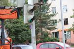 В Великих Луках обновляют светофоры (ФОТО)