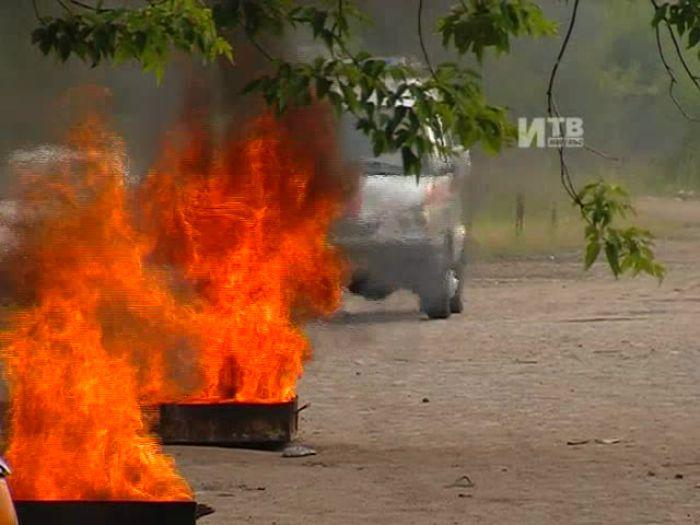 Импульс\u002DТВ: Учения пожарных на железной дороге