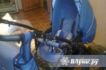 продам коляску Quipolo Sandero (2 в 1) производство Польша, цвет темно-синий (…