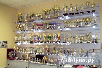 """Магазин """"ЛАВКА"""" в городе Новосокольники продает :Спортивные награды,кубки,медали,изготовим на заказ. Также в продаже огромный выбор бисера,страз."""
