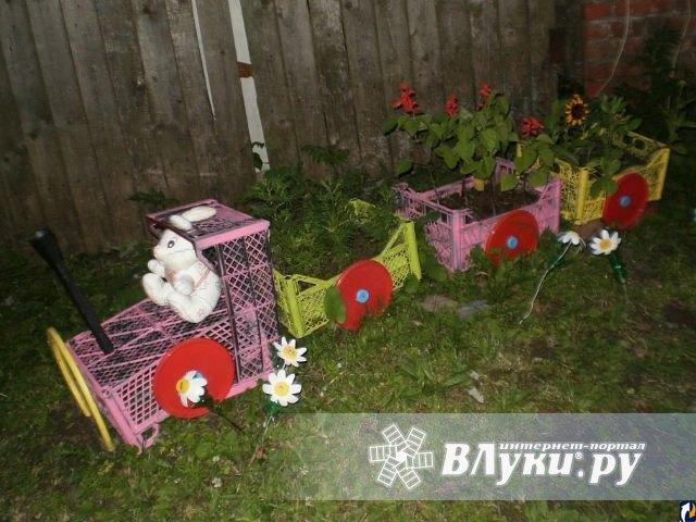 Как украсить дачный двор своими руками