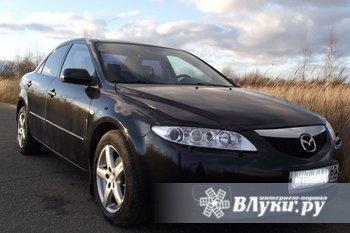 Авто для свадебного кортежа и других торжеств (по выходным дням).  Mazda 6, цвет - черный, салон - черный, задние стекла - тонированные. Цена - договорная.