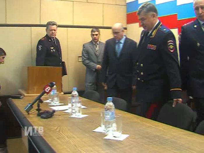 Импульс\u002DТВ: В Великих Луках новый главный полицейский ГОВД