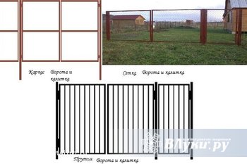 Продаем садовые металлические ворота от производителя! Готовая конструкция,…