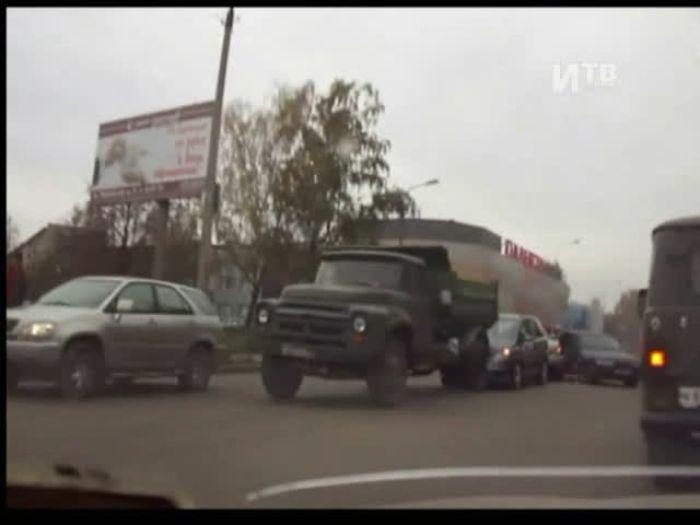 Импульс\u002DТВ: Авария на проспекте Гагарина