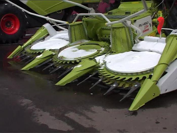 Перец\u002DРапид: Выставка сельхозтехники