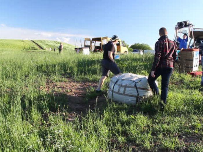 ВЛуки.ру: Полет на воздушном шаре
