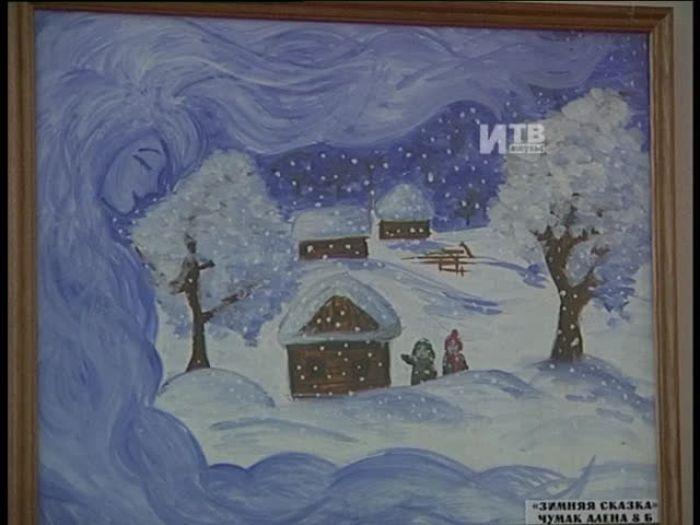 Импульс\u002DТВ: В седьмой школе открылась картинная галерея