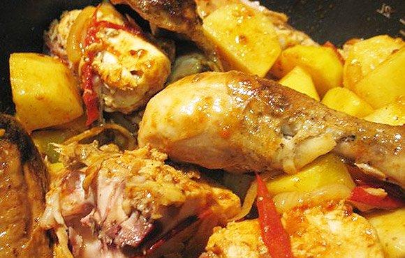 Рецепт окорочка с картошкой в мультиварке