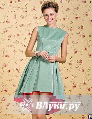 Ассиметричные юбки платья