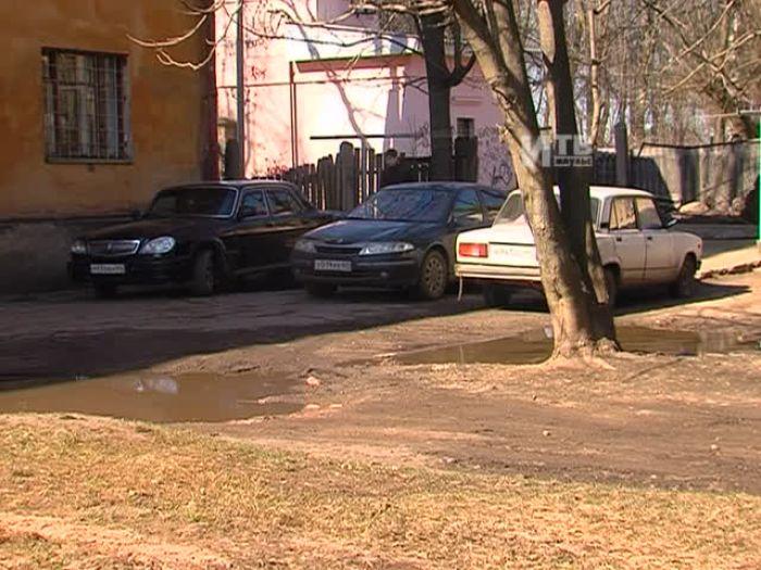 Импульс\u002DТВ: Двор д.7 по ул.Пушкина