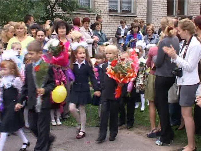 ДТВ\u002DРапид: Праздник первого звонка в средней школе №16