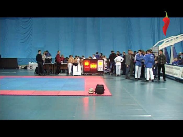 Перец\u002DРапид: Первенство и Чемпионат России по каратэ в г. Видное