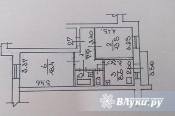 Продаеся 2-х ком. кв., в отлич. состоянии, на 1эт./6 эт. кирпичного дома 2001г.…