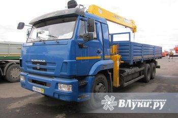 КМУ КАМАЗ 65117-6010-78+SOOSAN SCS736