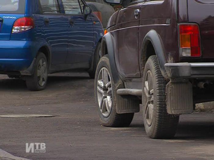 Импульс\u002DТВ: Парковка во дворах