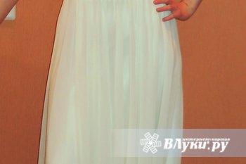 """Шикарное платье на выпускной. Размер 44-46, рост 166-168 см. Цвет """"шампанское"""",…"""