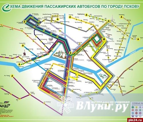 схема 12 маршрута нижний новгород