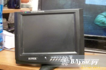 Телевизор для авто:  TFT LCD Super 8дм