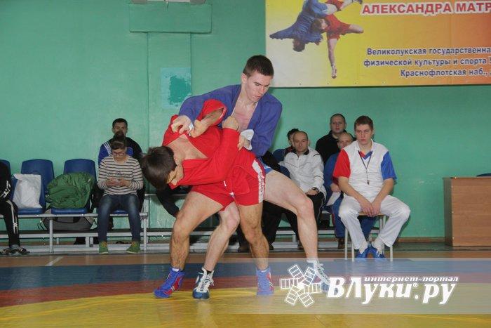 В Великих Луках прошел турнир по самбо, посвященный подвигу Александра Матросова (ФОТО)