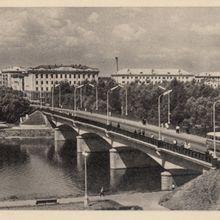 Мост через реку Ловать. 1966 год.