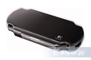 PSP Slim защитный жесткий чехол Logitech PlayGear Pocket Slim  Пластиковый…