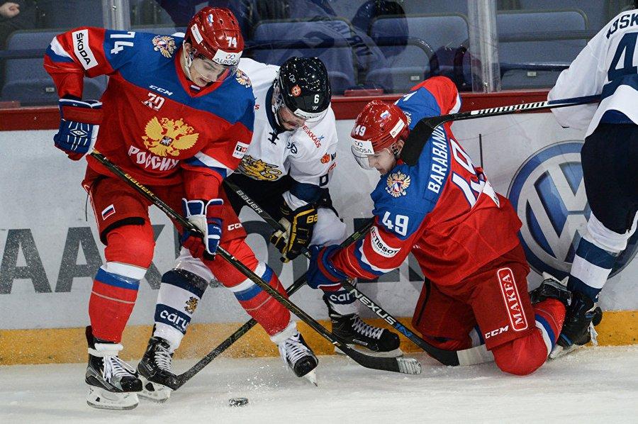 Гол Ничушкина принес сборной РФ победу над шведами