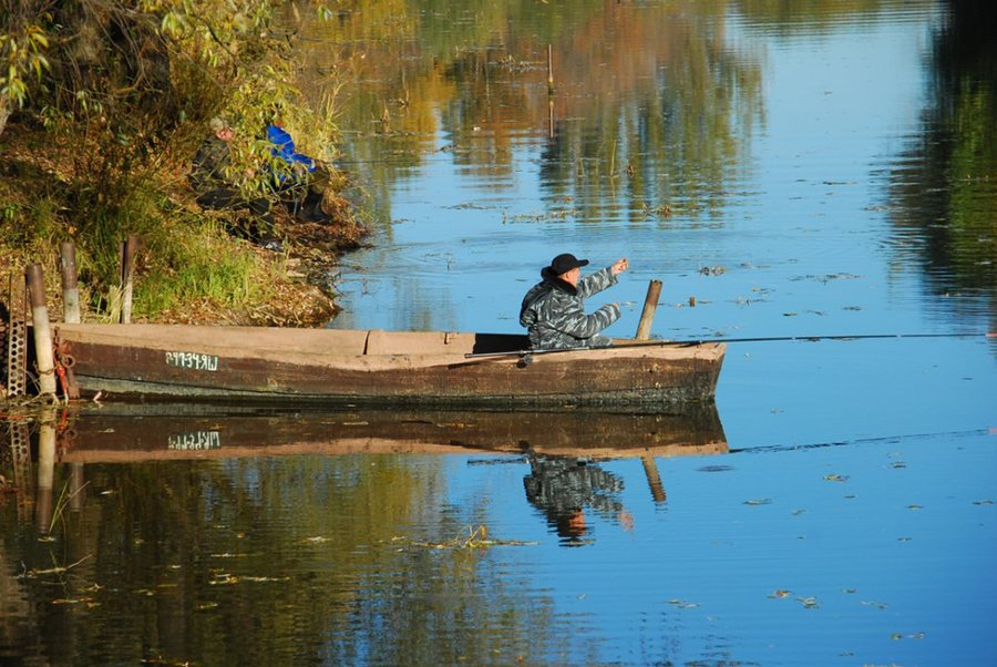 азы рыбалки с лодки