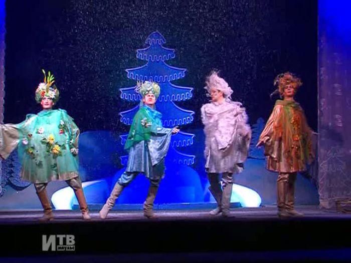 Импульс\u002DТВ: «Новогодняя сказка» в Драмтеатре