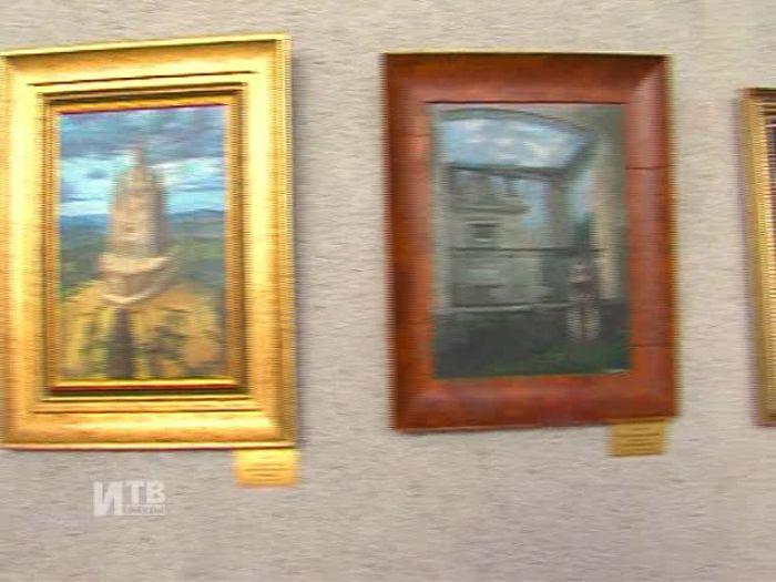 Импульс\u002DТВ: Выставка Н.Сафронова в Краеведческом музее