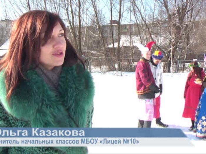 ВЛуки.ру: Масленица в школе