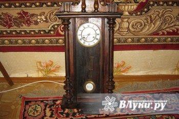 Часы старинные настенные исправные