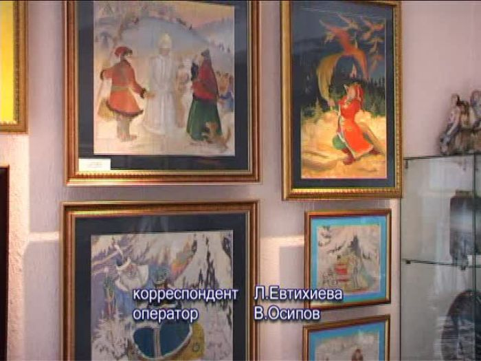 ДТВ\u002DРапид: Выставка работ Анатолия Крючкова