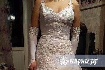 Продам свадебное платье, из салона Спб, новое, срочно!!