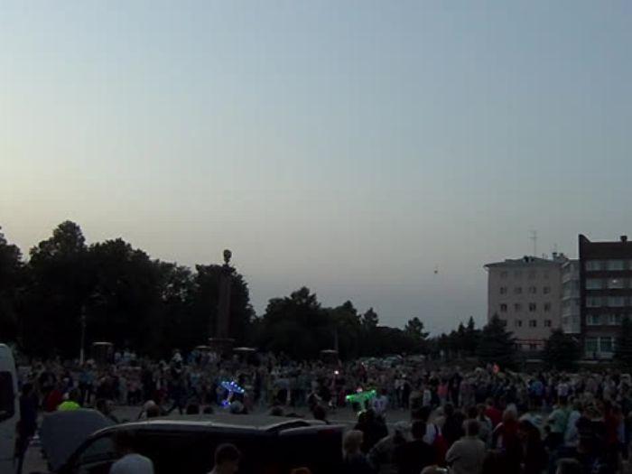 Фестиваль авиамодельного спорта России, ночные полеты (в городе)