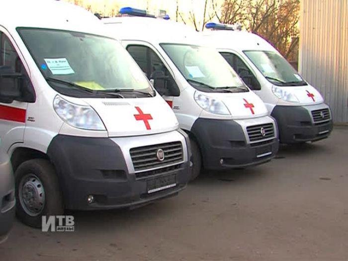 Импульс\u002DТВ: Новые автомобили «Скорой помощи»
