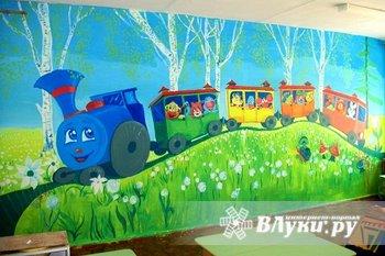 Художественная роспись стен потолков ( кафе , баров, ресторанов, детских…