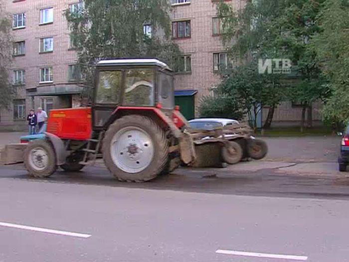 Импульс\u002DТВ: Уборка улицы Гоголя