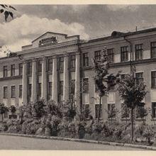 Учебный корпус Лесотехнического Техникума. 1966 год.