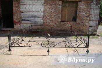 Металлические ритуальные оградки сварные или кованые любых размеров и…